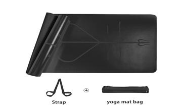 Pu Top Rubber Yoga Mats