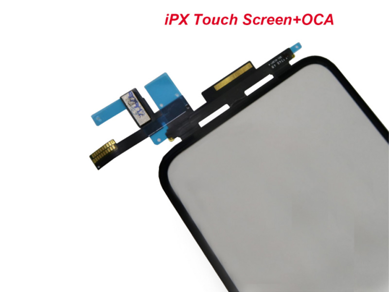 Hot Selling for iPhone X Front Touch Digitizer Glass With OCA Touch Panel, for iPhone X TP Replacement