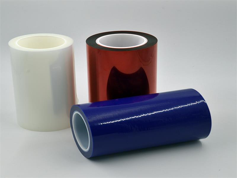 Manufactory Wholesale pet film suppliers silicone adhesive rolls