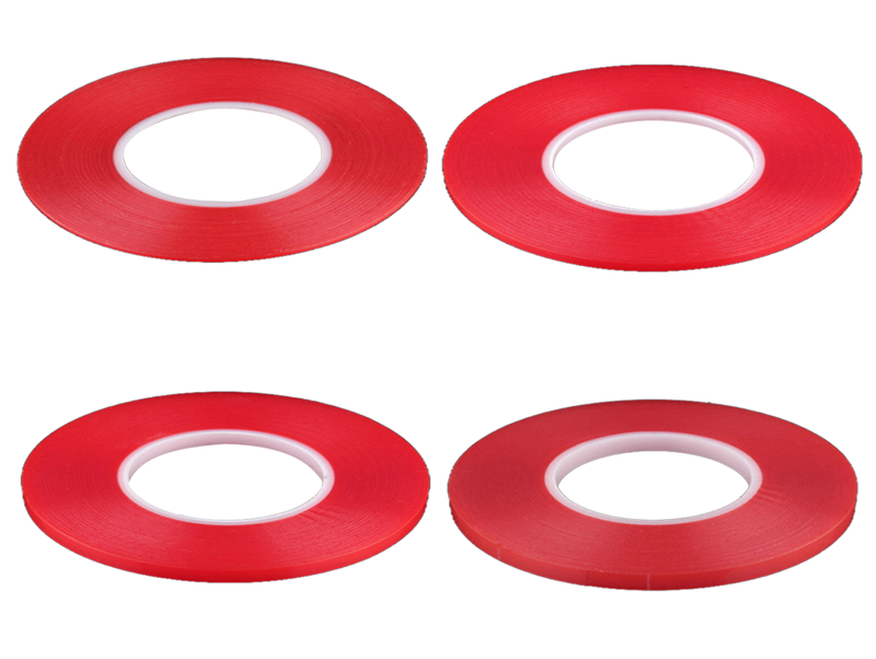 Clear Strong Double Sided PET Customized Adhesive Tapes