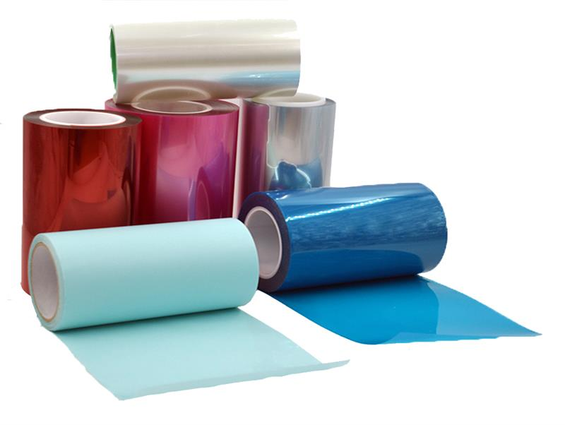 Protective plastic film pallet stretch