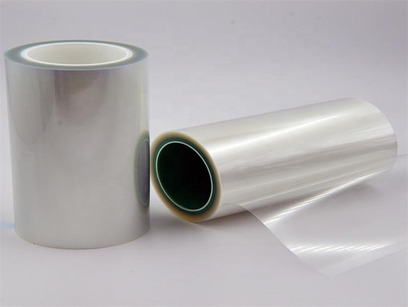 PU/Silicone/Acrylic Adhesive PET Substrate protective film self adhesive white/red/blue/clear plastic film
