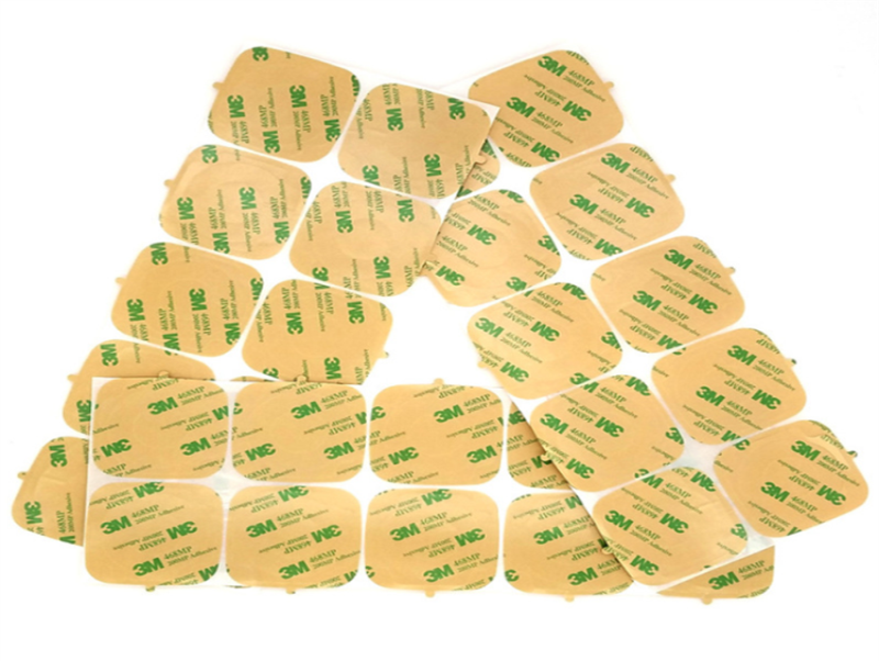 Precut strong waterproof no residual heat resistant 1inch Round 3m 9495LE 300LSE 1inch round double sided PET tape