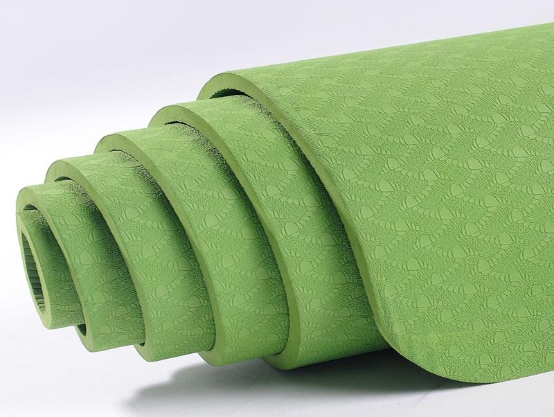wholesale custom color TPE yoga mat 6mm