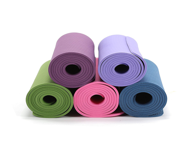 wholesale custom color TPE yoga mat 6mm