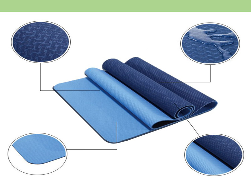 Strong tear eco-friendly soft feel import yoga mats