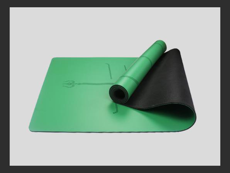 Custom Design PU Top Rubber Mats Yoga Manufacturer