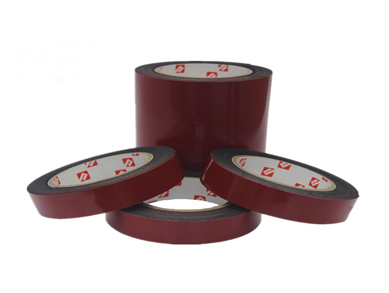 Competitive Price Acrylic Thin Double Coated Foam Tape For Motorcycle Nameplate Standard Letter Paste