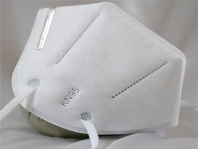 Anti Dust Virus Disposable Facial Protective Respirator KN95 Face